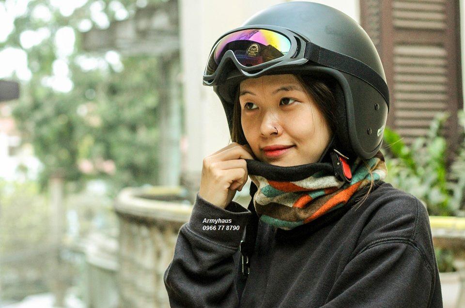 Mũ bảo hiểm phù hợp tạo cảm giác thoải mái, dễ chịu cho ngươi sử dụng