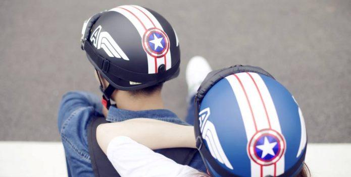 Mũ bảo hiểm Blue Sea – bảo vệ bạn trên mọi néo đường