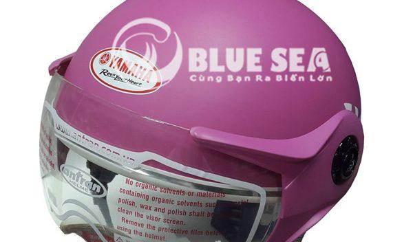 Mẫu mũ 1/2 có kính tại Blue Sea