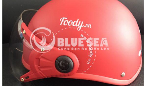 Mũ Foody sản xuất tại xưởng Blue Sea