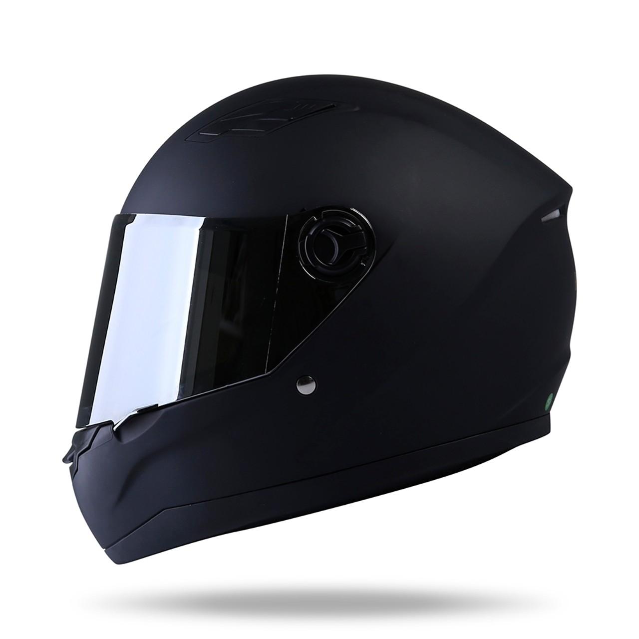 Mũ bảo hiểm có kính tráng gương chống mưa bụi