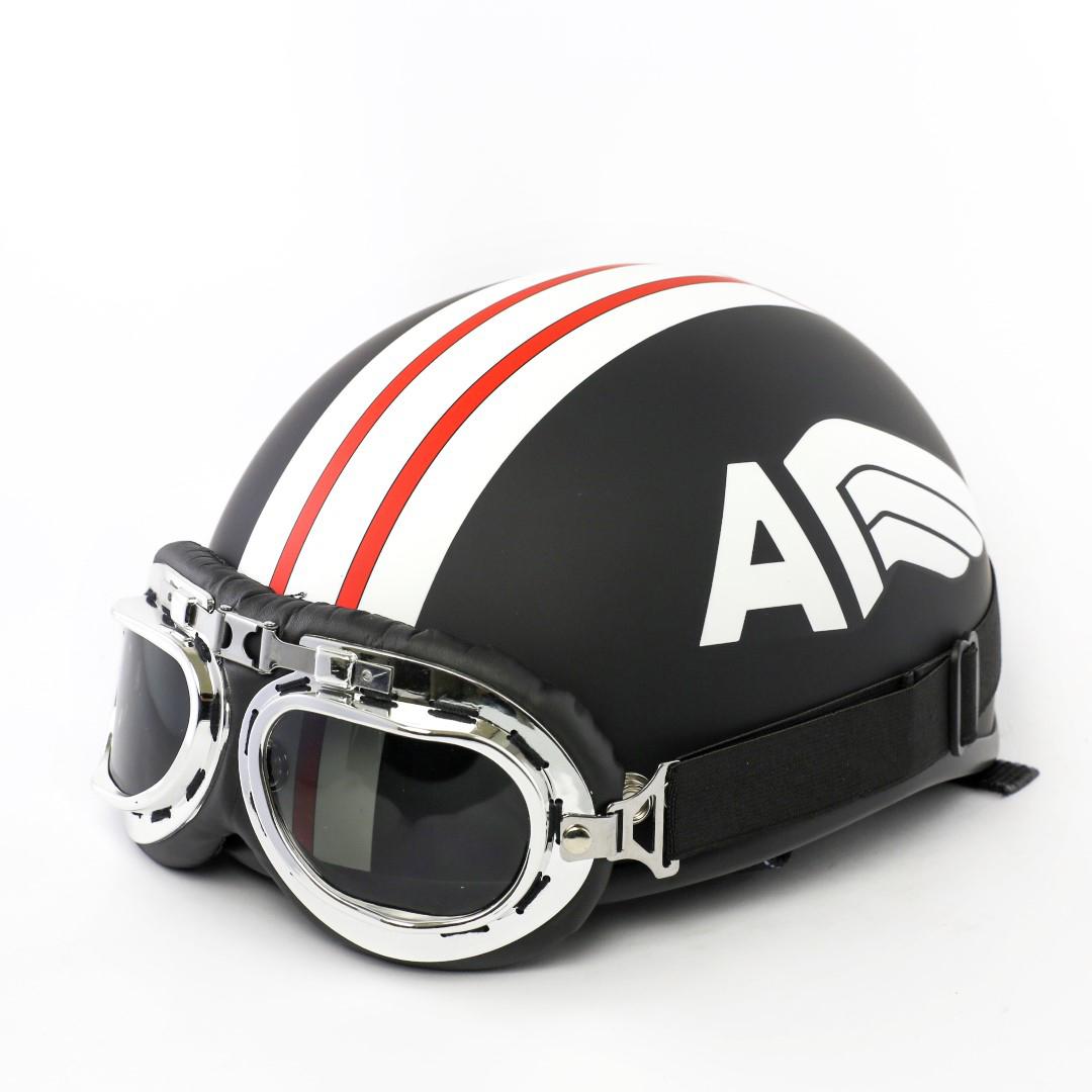 Mũ bảo hiểm độc đáo, hợp thời trang- tạo phong cách cho bạn trẻ