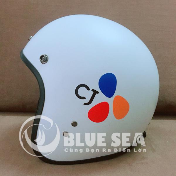 Mẫu mũ bảo hiểm được sản xuất tại Blue Sea