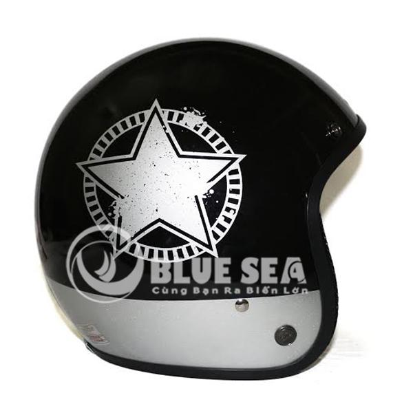 Mỗi sản phẩm mũ bảo hiểm ¾ đầu chỉ với giá 88k chỉ có tại Blue Sea