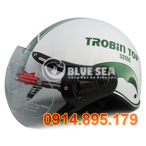 Mẫu mũ bảo hiểm có kính tại Blue Sea
