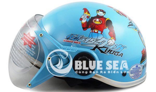 Mũ bảo hiểm cho trẻ em được sản xuất tại Blue Sea