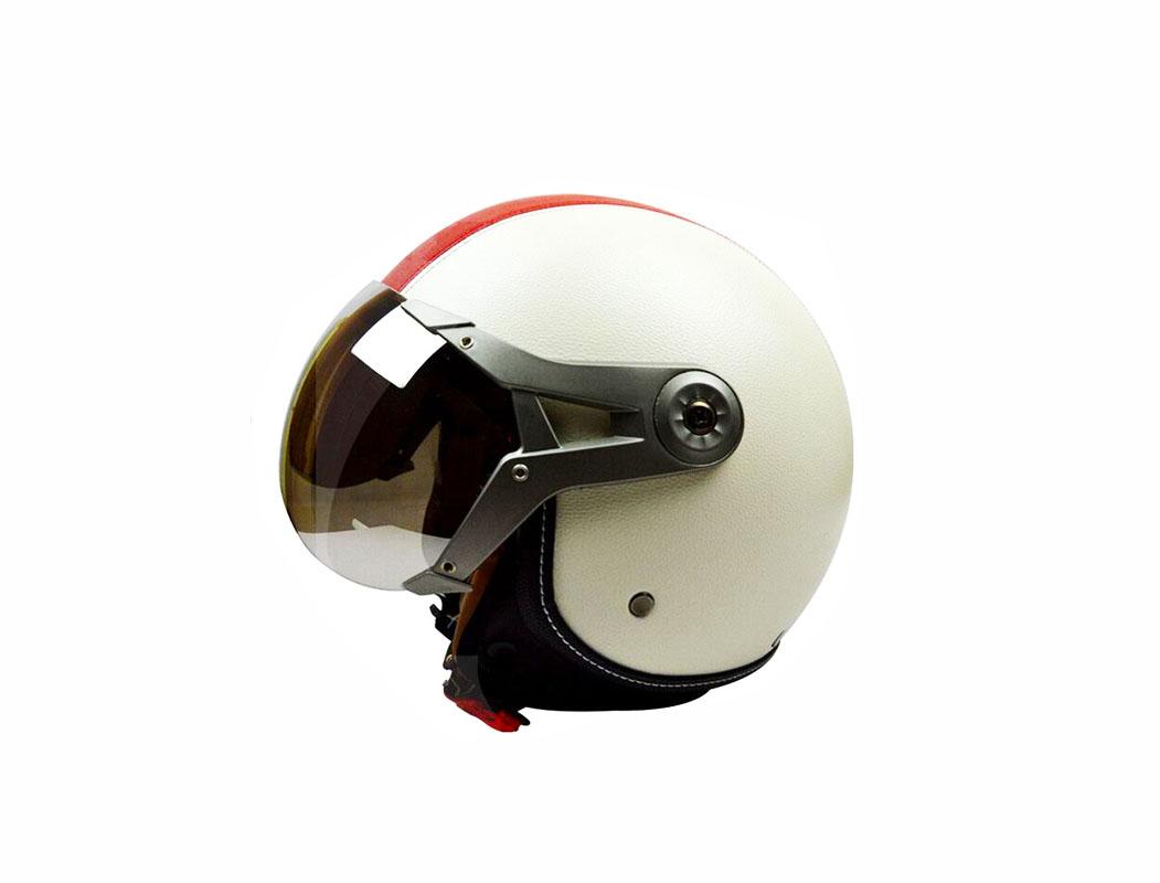 Mũ bảo hiểm có kính chống nắng được thiết kế phần kính râm để bảo vệ mắt