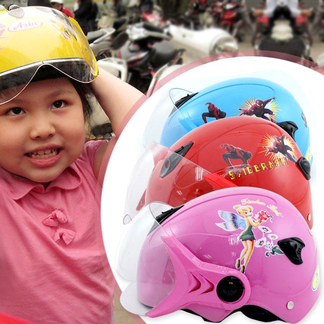 Chọn mũ bảo hiểm cho trẻ em thế nào?