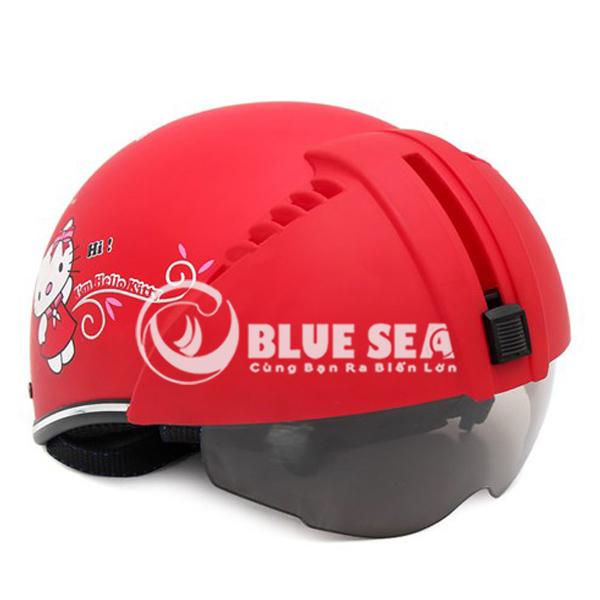 Mũ bảo hiểm trẻ em tại Blue Sea