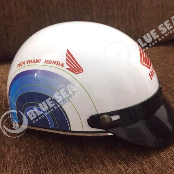 Sản xuất nón bảo hiểm honda số lượng lớn thiết kế theo yêu cầu khách hàng.
